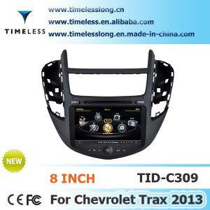 2 DIN Car DVD for Chevrolet Trax 2013 with Built-in GPS, A8 Chipset, RDS, Bt, 3G/WiFi, 20 Dics Momery (TID-C309)