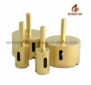 Hot Sale Vacuum Brazed Diamond Core Drill Bit Hex. Thread Shank pictures & photos