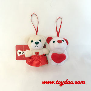 Plush Valentine Bear Key Ring Toy pictures & photos