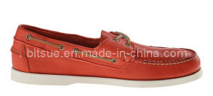 Soft Leather Men Dress Boat Shoes pictures & photos