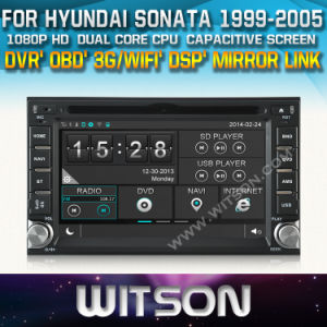 Witson Car DVD for Hyundai Sonata (W2-D8900Y) Mirror Link Touch Screen CD Copy DSP Front DVR Capactive Screen pictures & photos