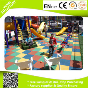 Safety Kids Playground Kindergarten Outdoor Rubber Flooring Mat pictures & photos