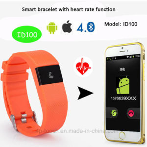 Intelligent Bluetooth 4.0 Bracelet with Heart Rate Function (ID100) pictures & photos