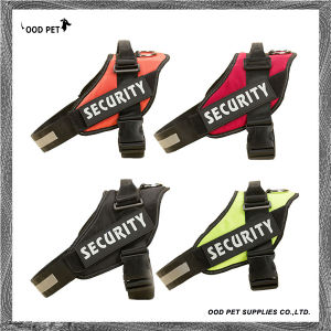 Large Dog Harness K9 Vest Pet Collar Products Comfortable Font Training Harness Sph9035 pictures & photos
