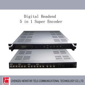5 in 1 MPEG2/MPEG4 Encoder
