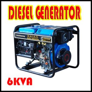 Small Diesel Generator From Home Use 6kw
