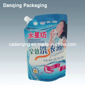 Liquid Spout Stand up Detergent Bags/ Laundry Detergent Bag/ Washing Detergent Bag (DQ138) pictures & photos