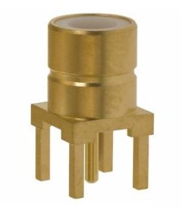 Male PCB Mount Straight SMB Connector