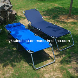 Outdoor Folding Bed (XY-206) pictures & photos