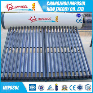 20 Tubes Heat Pipe Solar Water Heater pictures & photos