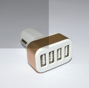 Christmas Gift 4 Ports USB Car Charger pictures & photos