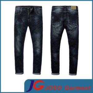 Drop Crotch 100% Cotton Men Jean (JC3258) pictures & photos