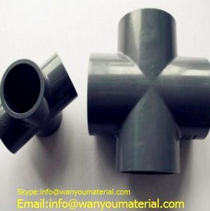 PVC Pipe/High Quality PVC Pipe Fitting/Elbow/Tee/Cross pictures & photos