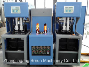 Factory Price Semi Automatic Pet Bottle Blowing Machine pictures & photos