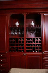 Welbom 2015 New Luxury All Wood Wine Holder Cupboard pictures & photos