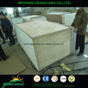 Paper Overlay Slot Plywood for Decoration Board Usage pictures & photos