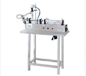 Semi-Auto Viscous Liquid Horizontal Pneumatic Filling Machine
