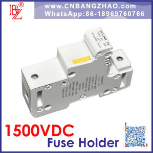 1500V Solar System Fuse Block- High Voltage Fuse Holder (10A/15A/20A) pictures & photos
