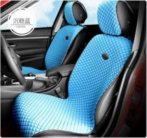 Car Seat Cover Flat Shape Ice Viscose Fabric-Red pictures & photos