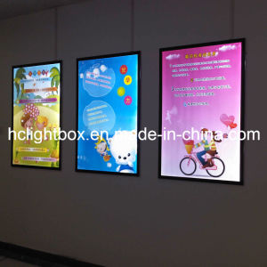 Slim LED Magnetic Frame Advertising Display Light Box