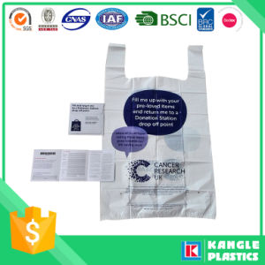 Custom Printed Plastic Charity Bag pictures & photos