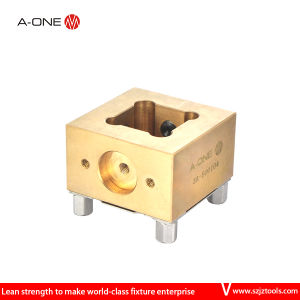 a-One Erowa CNC EDM Copper Electrode Holder for Chuck pictures & photos