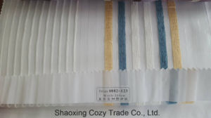 New Popular Project Stripe Organza Voile Sheer Curtain Fabric 0082123 pictures & photos