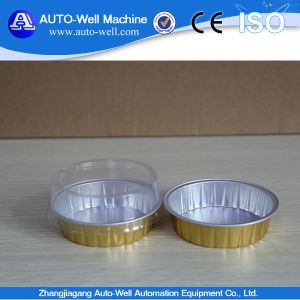Disposable for Cake with Clear Lid Aluminum Foil Container pictures & photos