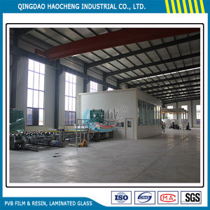 Thick 6.38mm Clear Laminated Glass with PVB Film pictures & photos