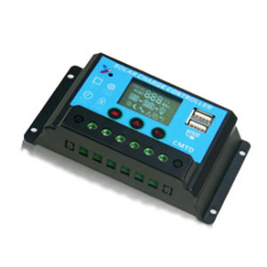 Solar Charger Controller LCD Display 12V/24V PWM pictures & photos