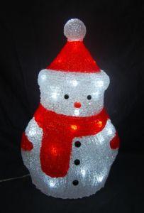 Acrylic Snowman Light LED (IL 1221) pictures & photos
