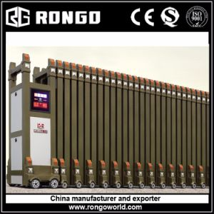 Aluminium Motorized Factory Collapsible Gates