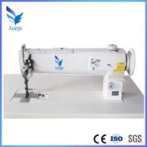 Long and High Arm Single, Double Needle Sewing Machine pictures & photos