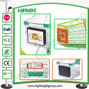 Shopping Cart Sign Holder and Frame Board pictures & photos