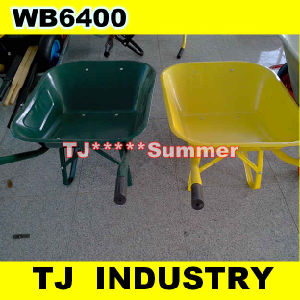 Yellow Orange Green Color Wb6400 Wheel Barrow pictures & photos