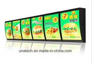 Aluminum Snap Frame Food Menu Board Light Box pictures & photos