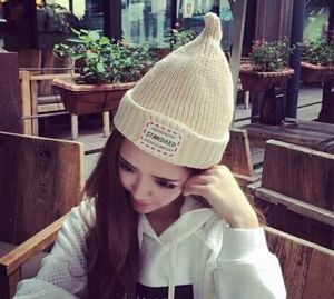 Fashion Lovely Korean Style Knitting Knitted Hat pictures & photos