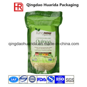 Plastic Flexible Reclosed Zipper Food Packaging Bag for Quinoa pictures & photos