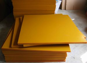 80-90shore a Polyurethane Sheet, PU Sheet with Brown Color pictures & photos