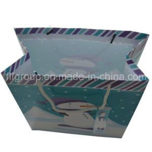 Hot Selling Custom Christmas Paper Bag pictures & photos