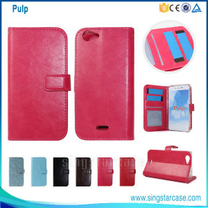 New Wallet Leather Phone Case for Wiko Pulp 4G, Flip Case for Wiko Pulp 4G, Wholesale Cover for Wiko Pulp 4G pictures & photos