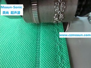 Ultrasonic Lace Sewing Machine for Non-Woven Bags (with CE) pictures & photos