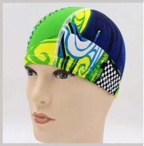 Swimming Caps Waterproof Swimming Hats Comfortable Elastic Fiber Swim Cap pictures & photos