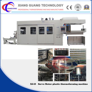 Automatic PLC Control Servo Motor Vacuum Forming Machine for Fruit Box pictures & photos