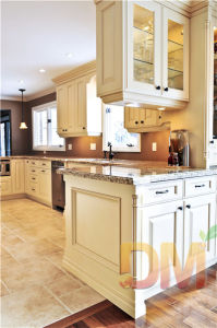 American Standard Glass Door Kitchen Cabinet China Supplier