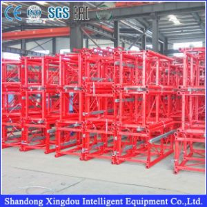 Construction Materials Lift Equipment Single and Double Cages Building Hoist pictures & photos