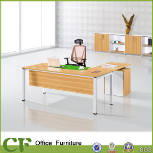 Melamine Faced Chipboard Office Desk CF D10308