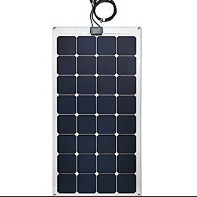 Solar Street Lights Sunpower Solar Cell Cutting 100watt Semi Flexible Solar Panel pictures & photos