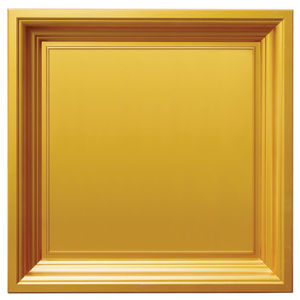 Gold FRP Tile Look Waterproof Wall Panel