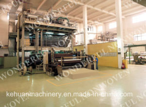 2.4m Width New Design SMMS PP Spunbond Nonwoven Fabric Equipment pictures & photos